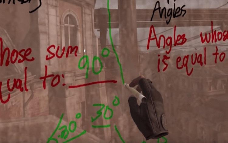 """Giáo viên """"trường người ta"""" sử dụng... Half-Life: Alyx để dạy toán"""