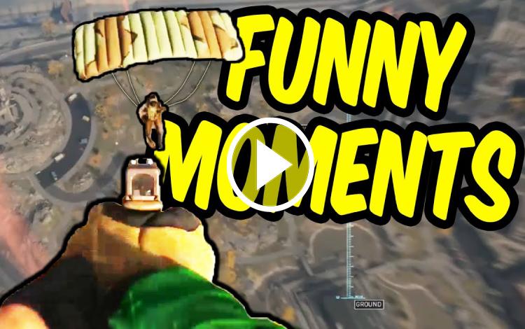 Những khoảnh khắc tấu hài của các game thủ trong Call of Duty: Warzone - Phần 1