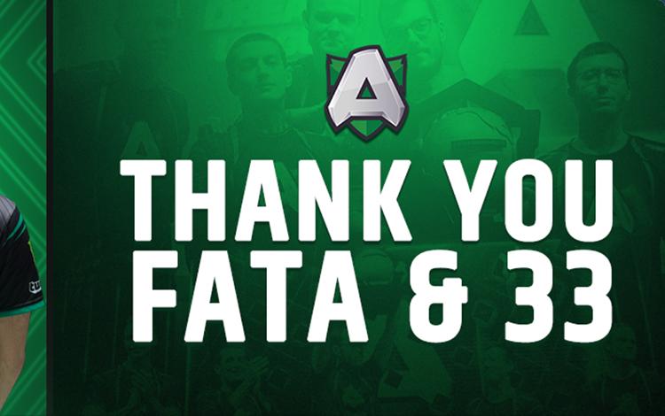 Fata và 33 rời Alliance sau hơn nửa năm gắn bó