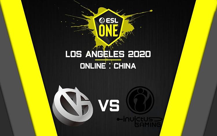 ESL One Los Angeles: VG vs iG - Cuộc chiến một mất một còn giữa 2 gã khổng lồ