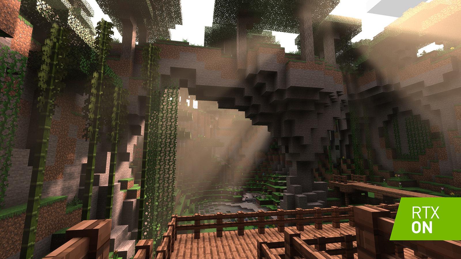 Nvidia nhá hàng phiên bản Minecraft được Ray Tracing đẹp long lanh