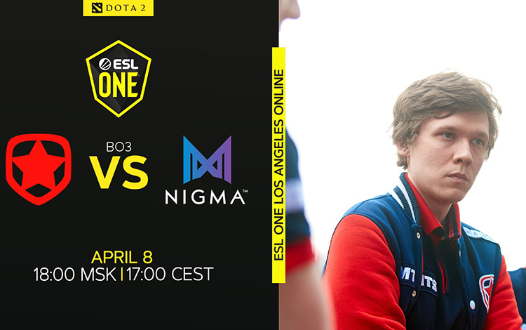 ESL One Los Angeles: Nigma vs Gambit - Thử thách chờ Kuroky