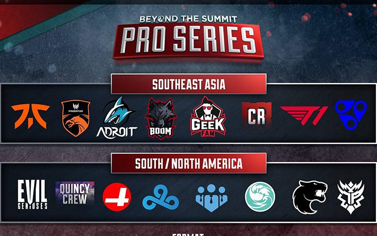 Beyond the Summit công bố giải đấu Online dành cho khu vực Đông Nam Á và châu Mỹ