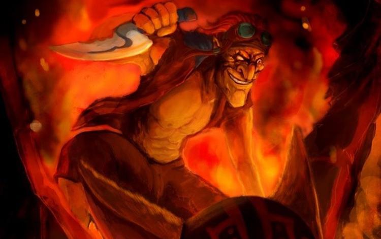 "Tiểu sử Hero: Batrider - ""Kẻ phát tán Corona"""