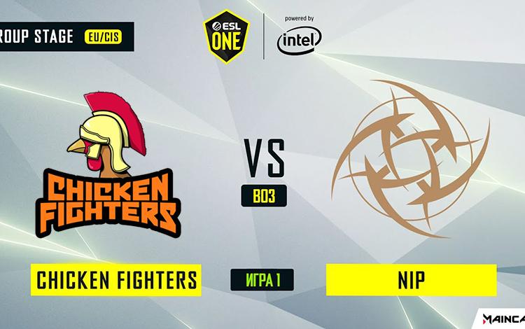 ESL One Los Angeles: NiP vs Chicken Fighter - Ppd trong nỗi nhớ Universe