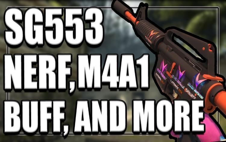 Cuối cùng thì Valve cũng đã quyết định neft vũ khí SG553 trong CS:GO
