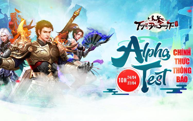Tuyệt Đại Song Tu chính thức Alpha Test ngày 24/4/2020 cùng chuỗi sự kiện đua TOP cực đỉnh