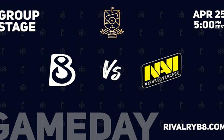 WePlay! Pushka League: B8 vs Na'Vi - Kéo nhau xuống vực thẳm