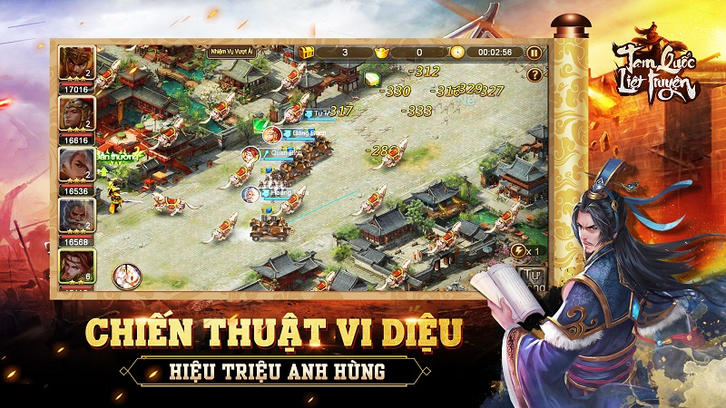 14/5 mới ra mắt, vậy nhưng game thủ Tam Quốc Liệt Truyện  đã nắm trong tay hàng loạt bí kíp lên ngôi vương