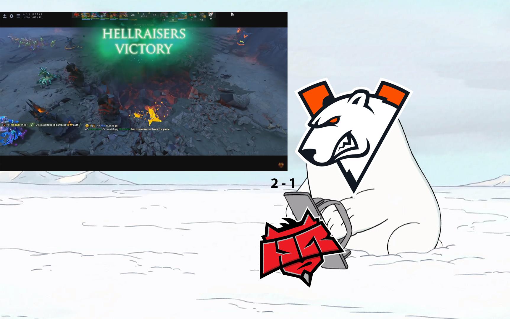 """Kết quả WePlay! Pushka League ngày 30/4: Gấu Nga """"sập bẫy"""""""