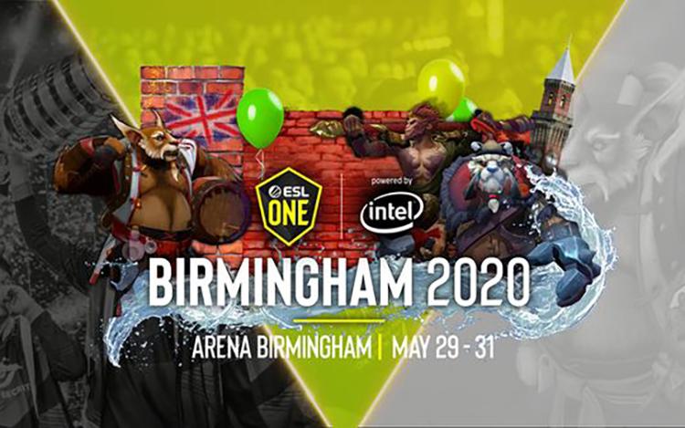 ESL One Birmingham chính thức mở cửa đăng ký vòng sơ loại