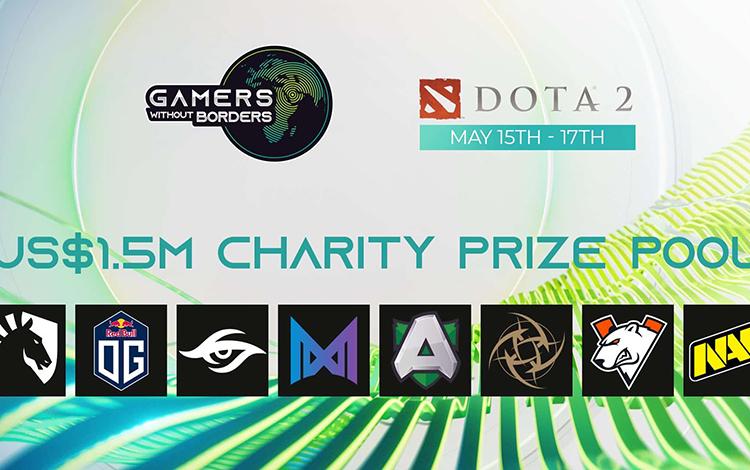 Giải đấu Dota 2 từ thiện trị giá triệu Đô công bố dàn khách mời khủng
