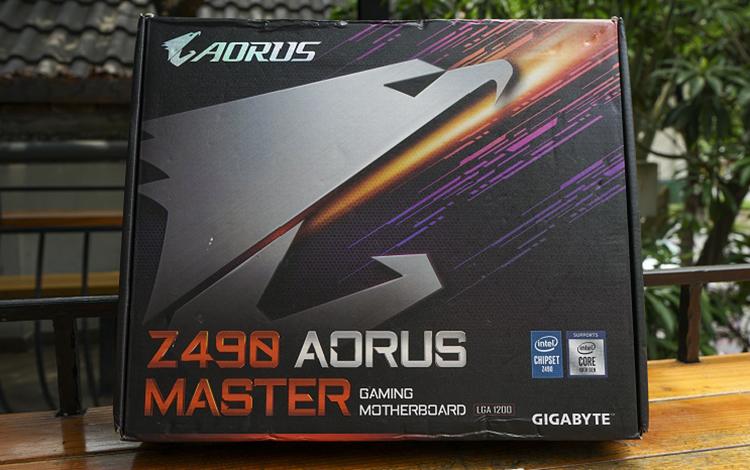 Đập hộp Z490 Aorus Master: Bo mạch chủ đáng tin cậy dành cho game thủ đua cấu hình