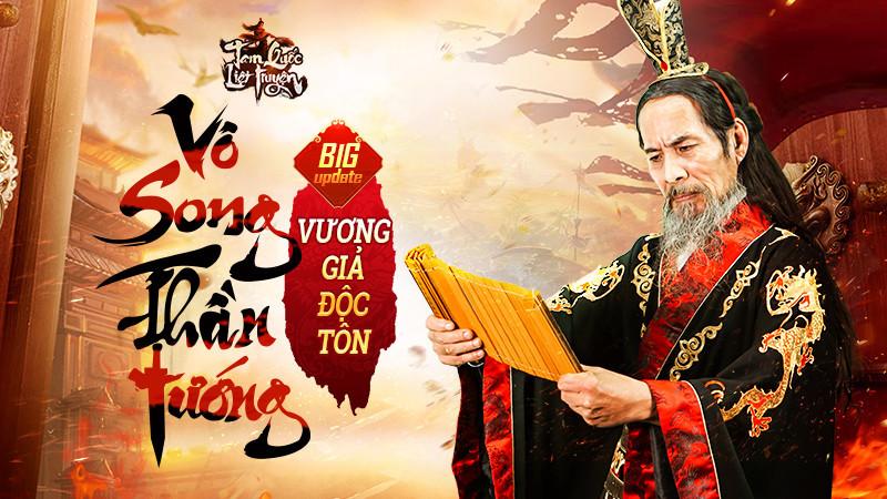 Vương Giả Độc Tôn - Bản Update đầu tiên của Tam Quốc Liệt Truyện chính thức ra mắt ngày 15/06