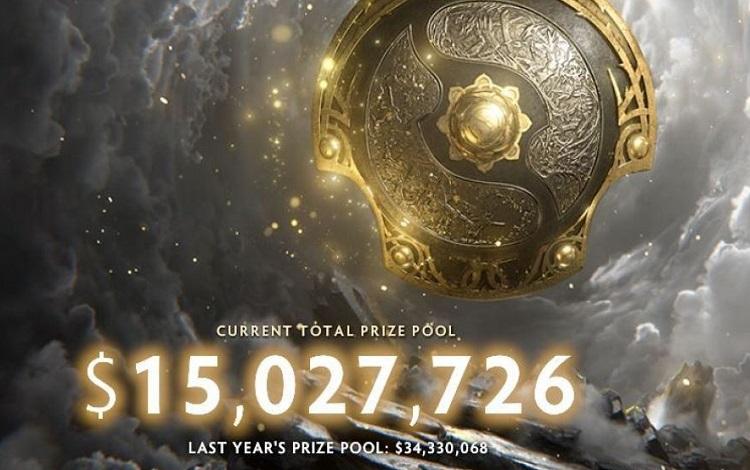 Tiền thưởng The International 10 âm thầm cán mốc 15 triệu Đô La Mỹ