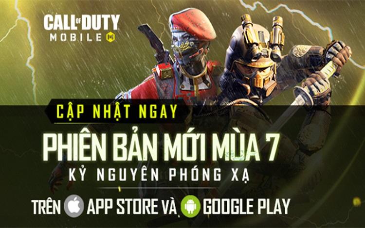 Những điểm mới hấp dẫn người chơi trong phiên bản mùa 7 của Call of Duty: Mobile VN