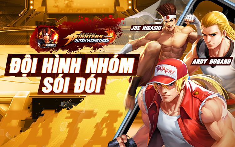 """KOF AllStar VNG – Quyền Vương Chiến: Game mobile đầu tiên """"đổ bộ"""" cùng lúc 4 quốc gia"""