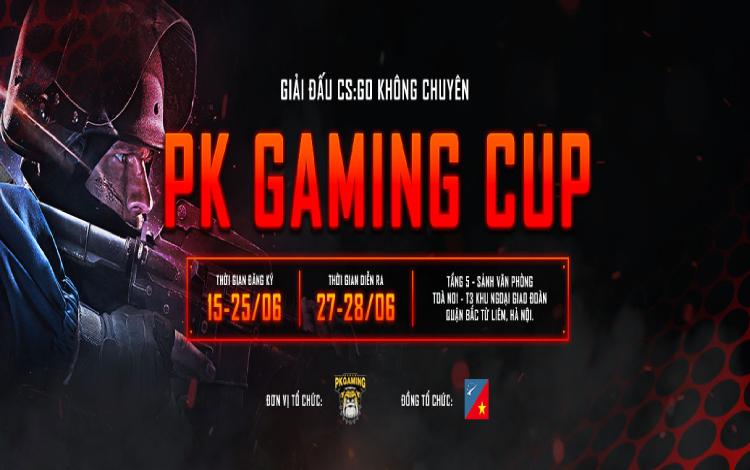 CS:GO PK Gaming Cup - Cơn khát được giải tỏa