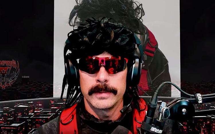 Dr Disrespect bất ngờ bị Twitch cấm stream không rõ lý do