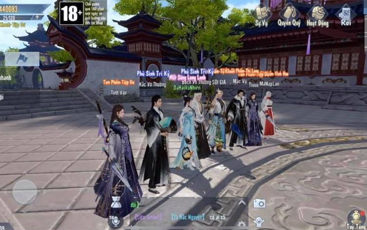 Tỷ Muội Hoàng Cung hướng dẫn game thủ cách tham gia tính năng bang hội