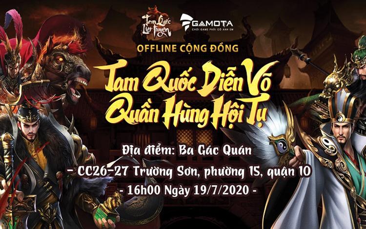 Hé lộ loạt quà khủng dành tặng game thủ tham gia Offline Tam Quốc Liệt Truyện