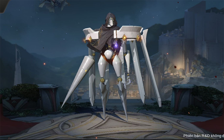 Omega khoác lên mình skin mới cực chất trong Liên Quân Mobile