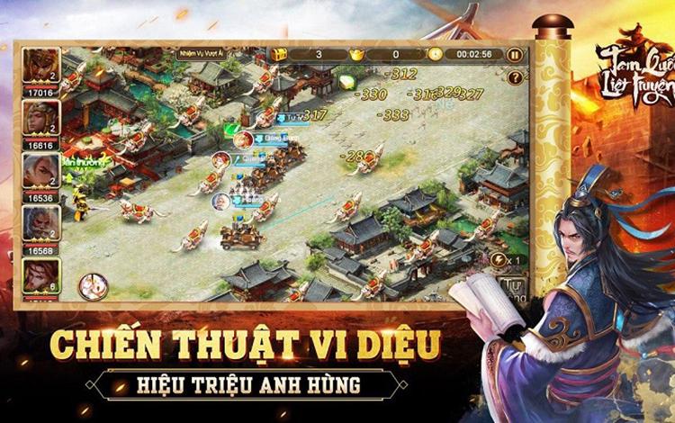 """Khoe đồ giờ xưa rồi, game thủ Tam Quốc Liệt Truyện khoe luôn  tướng """"xịn"""" cùng lực chiến đẹp mỹ mãn"""