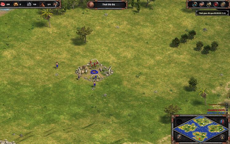 Những bản đồ thi đấu trong AoE DE