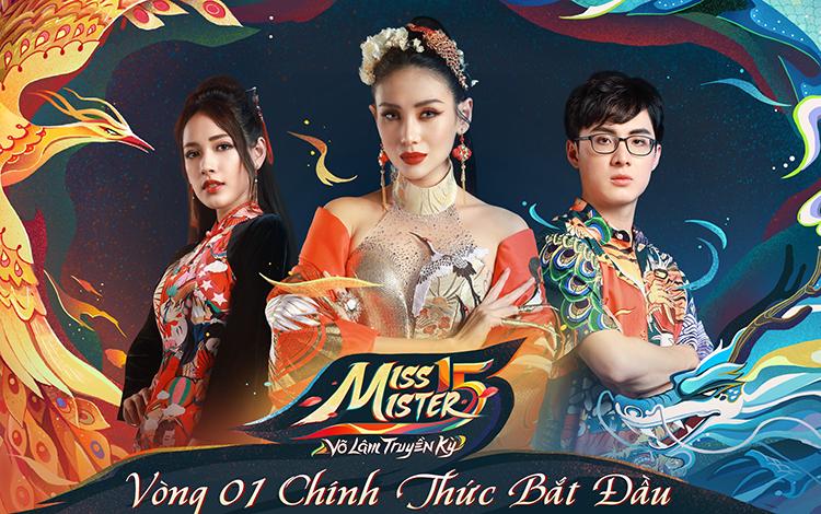 Đấu trường nhan sắc và tài năng lớn nhất làng game Việt: Miss & Mister Võ Lâm Truyền Kỳ 15 chính thức khởi động