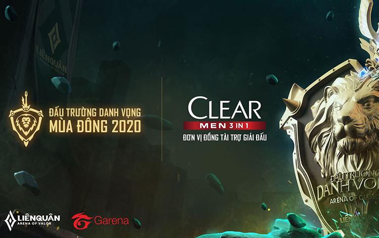 Clear Men trở thành nhà tài trợ chính thức cho ĐTDV Mùa Đông 2020