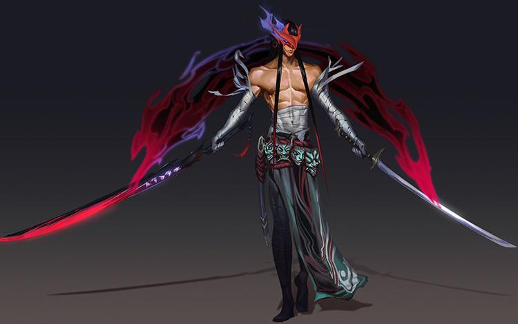 Yone - Từ cách tạo hình tới lối chơi hoa mỹ được Riot Games thiết kế ra sao (Phần 1)