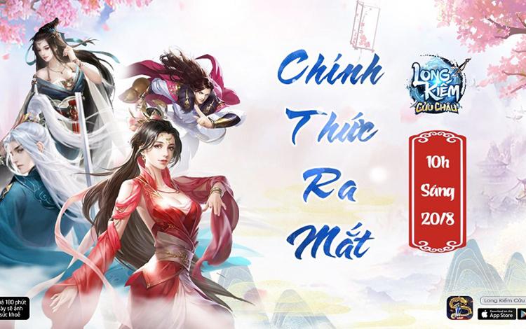 Long Kiếm Cửu Châu – công bố lịch khai mở phiên bản chính thức vào ngày 20/8/2020