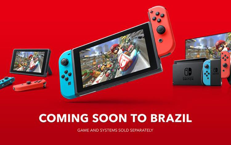 Nintendo Switch chuẩn bị được ra mắt ở thị trường Brazil