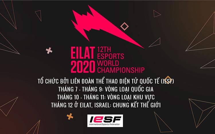 GIỚI THIỆU VÒNG LOẠI VIỆT NAM GIẢI THỂ THAO ĐIỆN TỬ VÔ ĐỊCH THẾ GIỚI 2020  IESF ESPORTS WORLD CHAMPIONSHIP 2020
