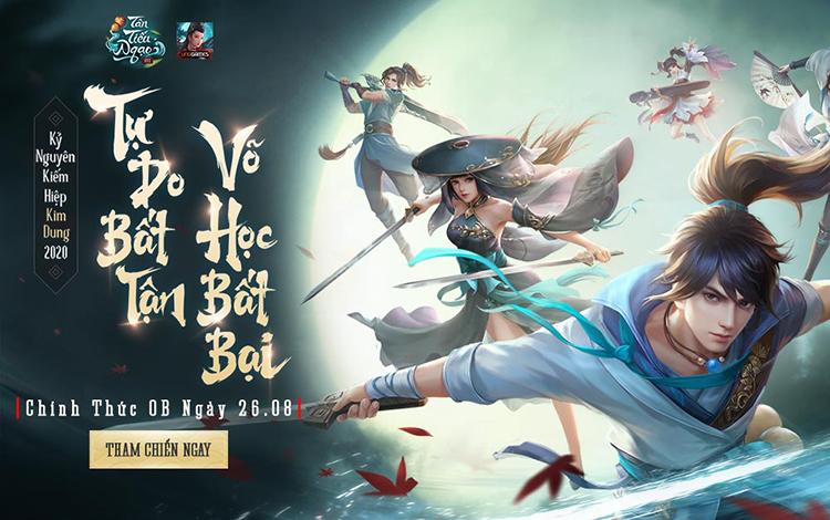 Tân Tiếu Ngạo VNG tặng game thủ gift-code mừng game Opne Beta