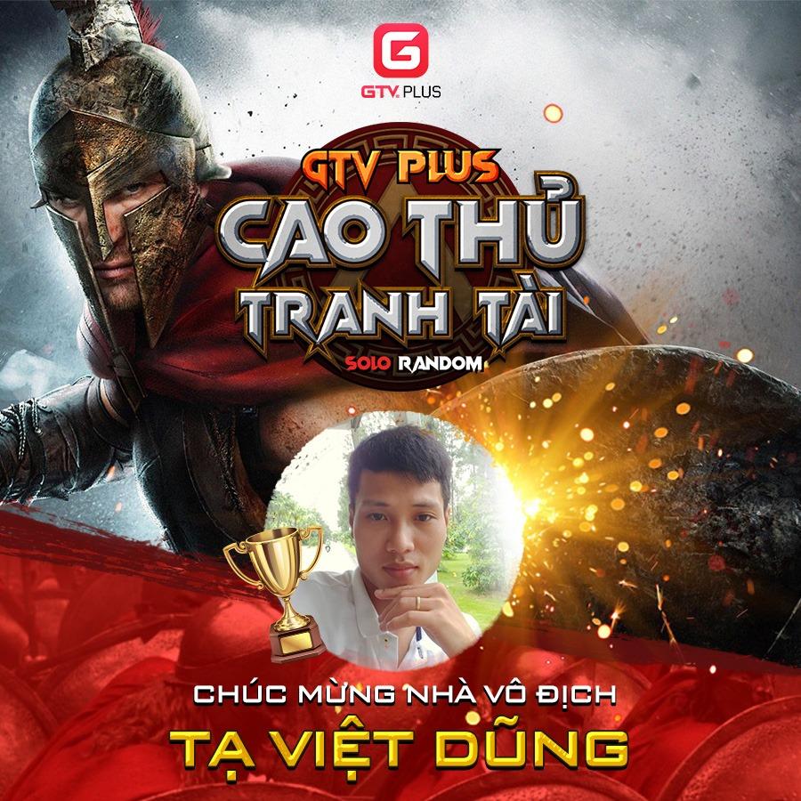 GTV Plus Cao Thủ Tranh Tài đã xác định được chủ nhân danh hiệu cao quý