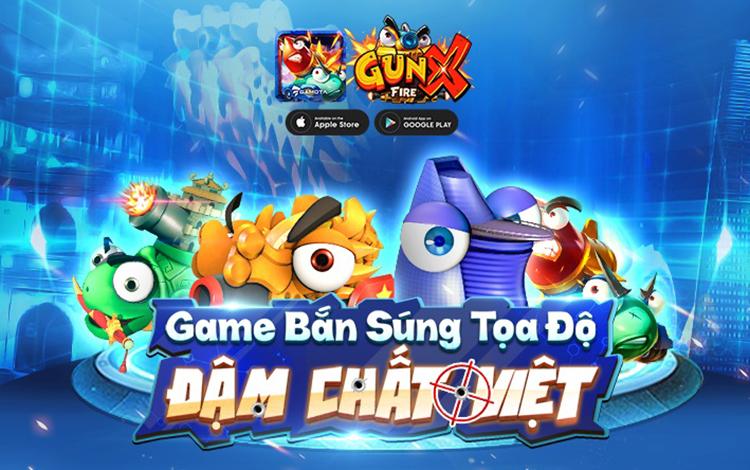 Bung hết chất Việt, GAMOTA chính thức phát hành GunX: Fire  - Game bắn súng tọa độ thế hệ mới