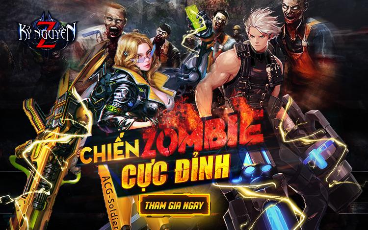 Siêu phẩm MMO cập bến làng game Việt, mang đề tài Zombie hậu tận thế đầy mới lạ: Kỷ Nguyên Z