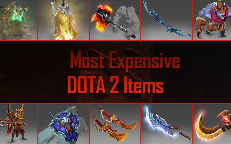 Top những trang phục đắt đỏ nhất trong lịch sử Dota 2