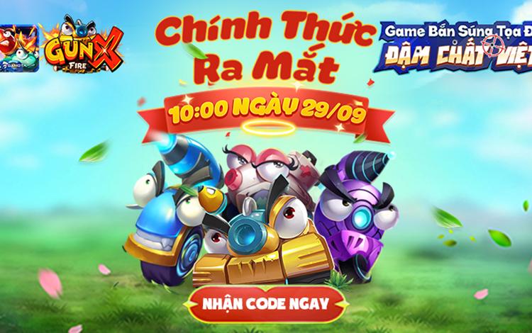 Tung link tải sớm, GunX: Fire sẵn sàng chính thức ra mắt vào 29/9