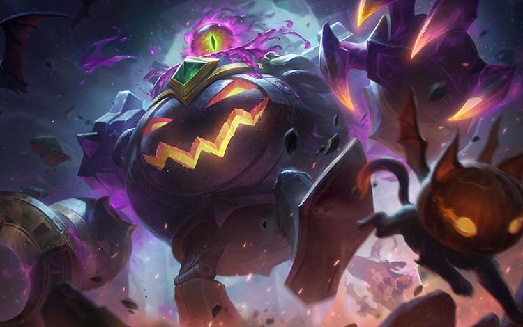 Riot Games hé lộ cặp trang phục Halloween siêu ngầu