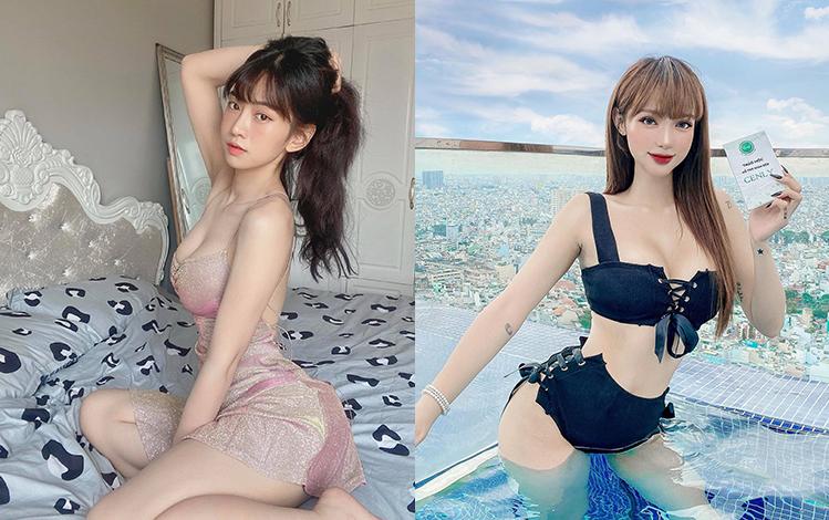 Chiêm ngưỡng nhan sắc tuyệt trần của 2 hotgirl Việt được lên báo quốc tế vì quá xinh
