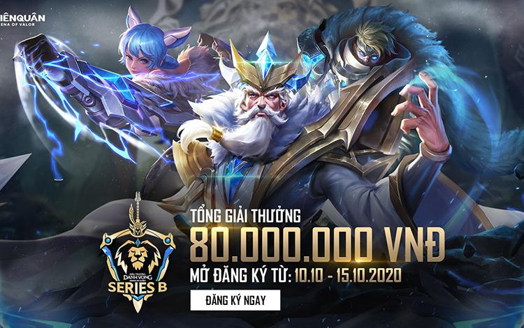 Thông tin chính thức về thời gian đăng ký ĐTDV Series B Mùa Đông 2020