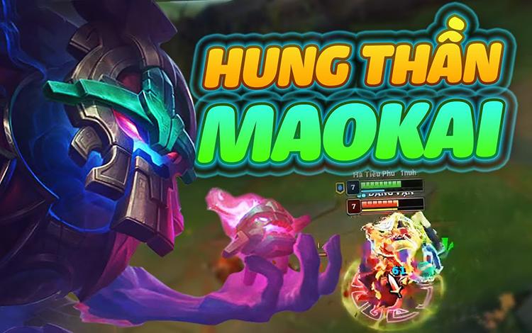 Giải mã Maokai đường trên - quái vật có tỷ lệ thắng cao nhất LMHT cùng Hà Tiều Phu