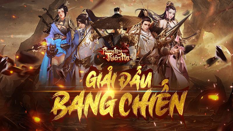 Phong Lăng Thiên Hạ chính thức khởi tranh giải đấu Bang chiến đầu tiên