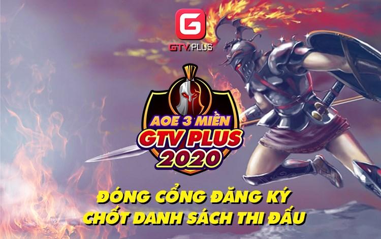 Giải đấu AoE 3 Miền GTV Plus 2020 chính thức đóng đăng ký