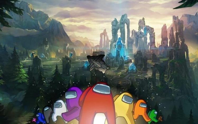 Riot Games lên ý tưởng gây sốc về việc kết hợp Among Us và LMHT