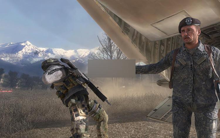 Sau LMHT, fan FPS cũng chế trò chơi Call of Duty phiên bản Among Us