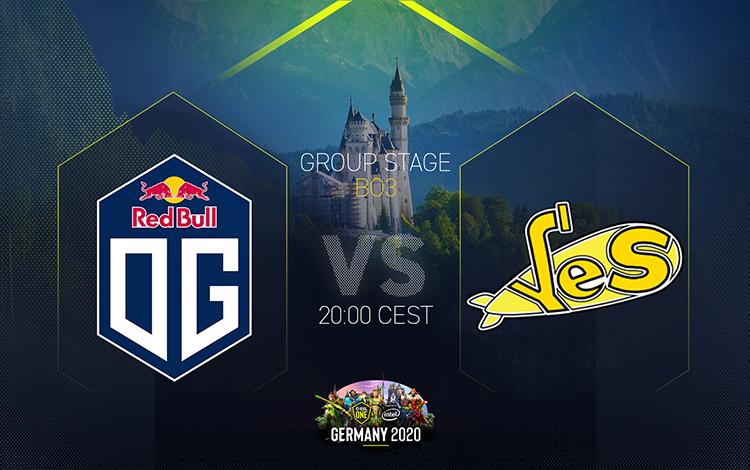 ESL One Germany: OG vs Yellow Submarine - Đứng lên sau thất bại