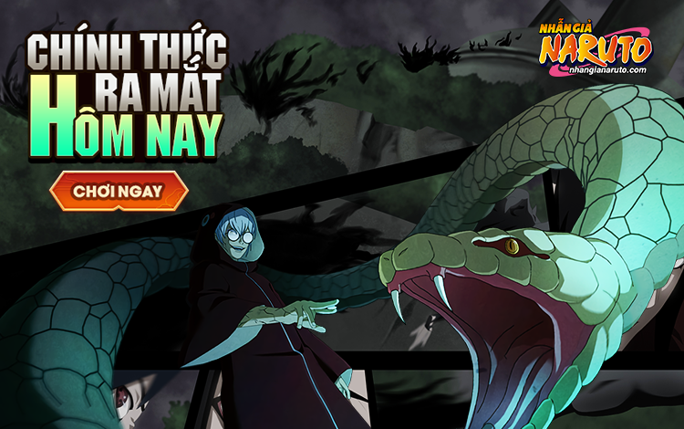 """""""NHẪN GIẢ NARUTO"""" chính thức ra mắt hôm nay,  tặng quà cực khủng cho game thủ."""